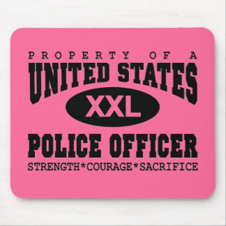 Property of a Police Officer Mouse Pad