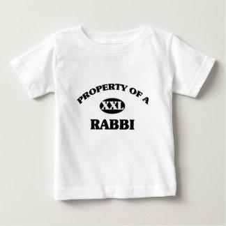 Property of a RABBI Baby T-Shirt