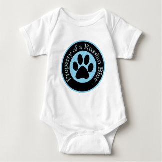 Property of a Russian Blue Baby Bodysuit