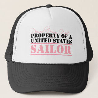 Property of a Sailor Trucker Hat