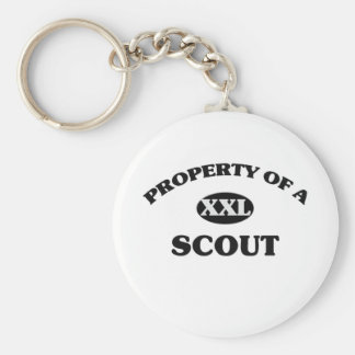 Property of a SCOUT Key Chains