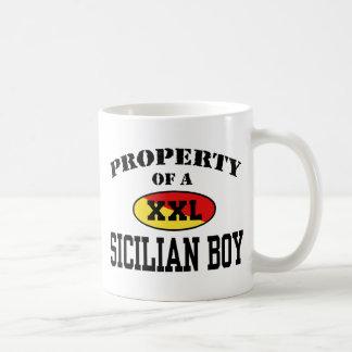 Property of a Sicilian Boy Coffee Mug