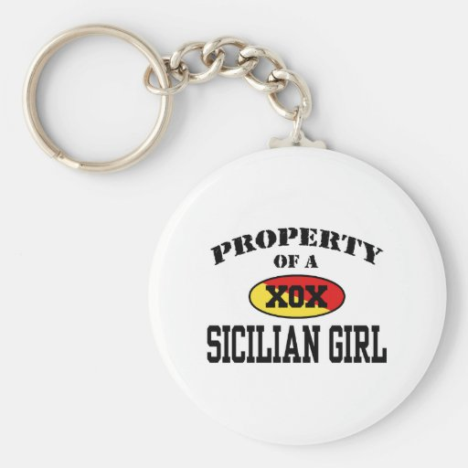 Property of a Sicilian Girl Key Chains