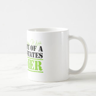 Property Of A Soldier Classic White Coffee Mug