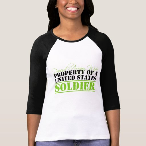 Property Of A Soldier T Shirt