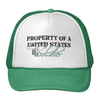 Property of a Soldier Trucker Hat