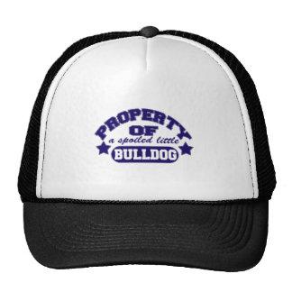 Property of a Spolied Bulldog Trucker Hat