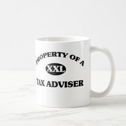 Property of a TAX ADVISER Mugs