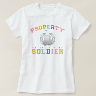 Property of a U.S. Soldier (Colorful) T-Shirt