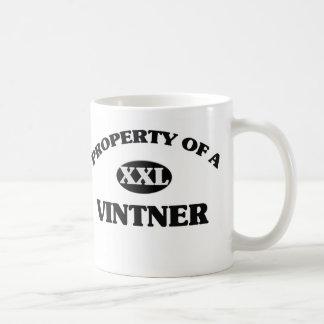 Property of a VINTNER Coffee Mug