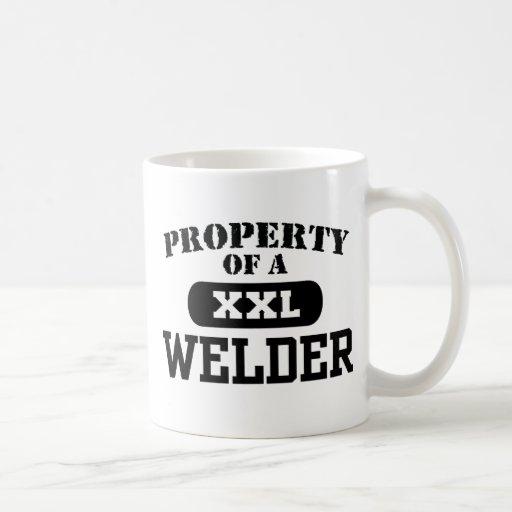 Property of a Welder Coffee Mugs