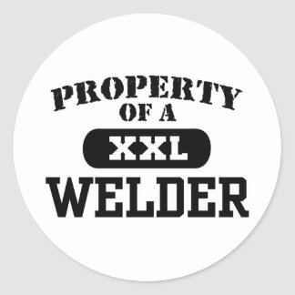 Property of a Welder Sticker