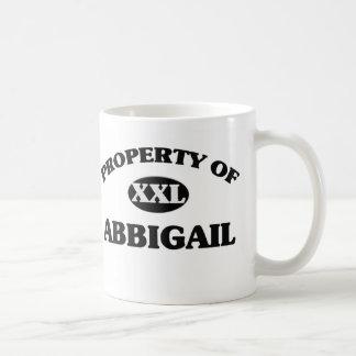 Property of ABBIGAIL Mug