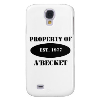 Property of a'Becket Samsung Galaxy S4 Case