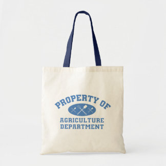 Property Of Agriculture Department (blue) Tote Bag