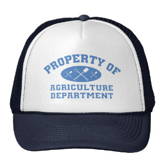 Property Of Agriculture Department (blue) Trucker Hat