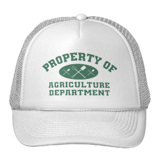 Property Of Agriculture Department Trucker Hat