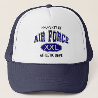 PROPERTY OF AIR FORCE ATHLETIC DEPT TRUCKER HAT