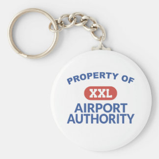 Property of Airport Authority Keychain