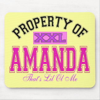 Property of Amanda Mouse Pad