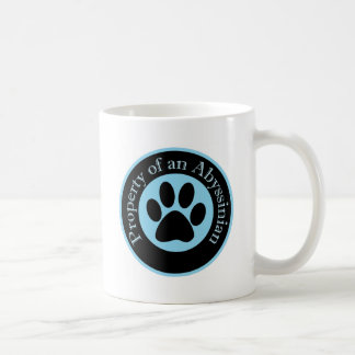 Property of an Abyssinian Coffee Mug