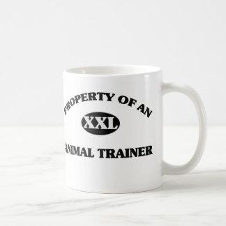 Property of an ANIMAL TRAINER Classic White Coffee Mug