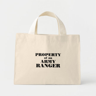 Property of an Army Ranger Mini Tote Bag