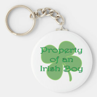 Property of an Irish Boy Keychain