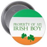 Property of an Irish boy Pinback Button