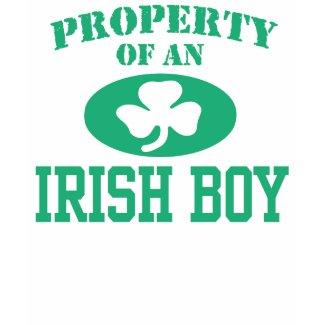 Property of an Irish Boy
