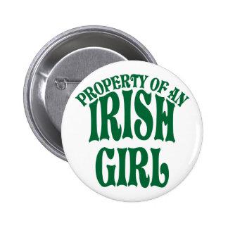 Property of an Irish Girl Button