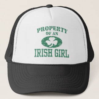 Property of an Irish Girl Trucker Hat