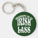 Property of an Irish Lass Keychain