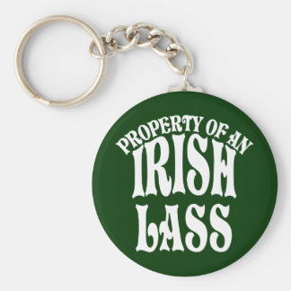Property of an Irish Lass Keychain