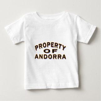 Property Of Andorra. T-shirts