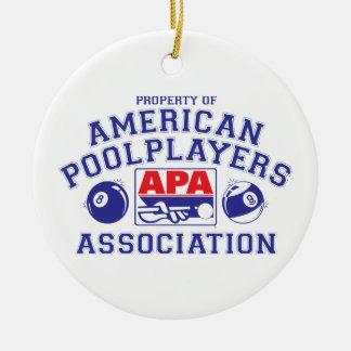 Property of APA Ceramic Ornament