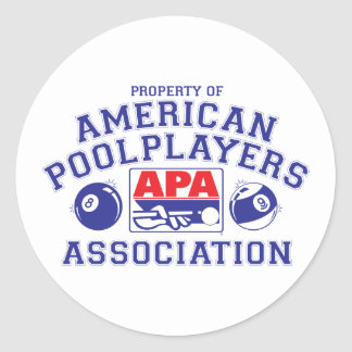 Property of APA Classic Round Sticker