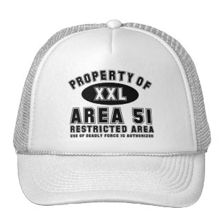 Property of Area 51 Trucker Hat