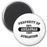 Property of Arkansas shirts Refrigerator Magnet