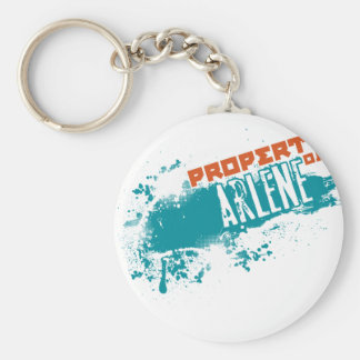 Property Of Arlene.png Keychain