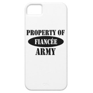 Property of Army Fiancee iPhone 5 Case