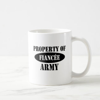 Property of Army Fiancee Coffee Mug