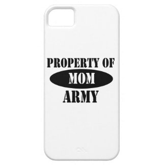Property of Army Mom iPhone 5 Cover