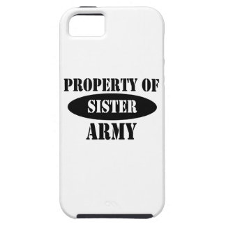 Property of Army Sister iPhone 5 Cover