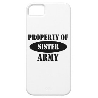Property of Army Sister iPhone 5 Case