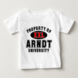 Property of Arndt University Baby T-Shirt