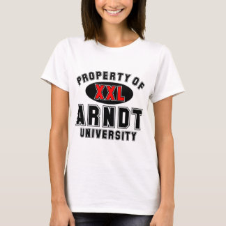 Property of Arndt University T-Shirt