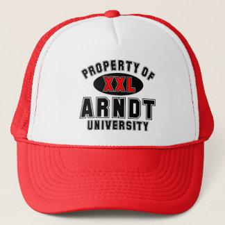 Property of Arndt University Trucker Hat