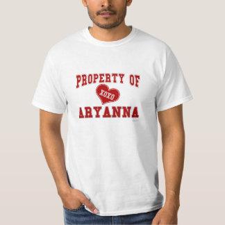 Property of Aryanna Tee Shirt