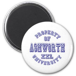 Property of Ashworth University 2 Inch Round Magnet